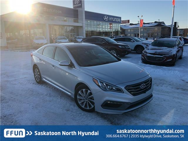2016 Hyundai Sonata Sport Tech (Stk: B7463A) in Saskatoon - Image 1 of 27
