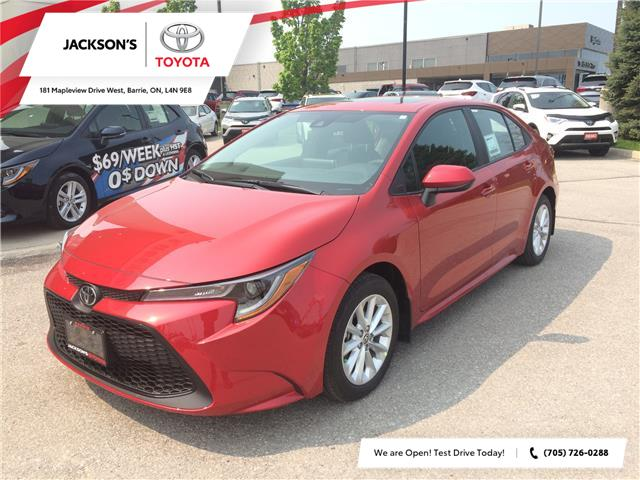 2020 Toyota Corolla LE (Stk: 634) in Barrie - Image 1 of 13