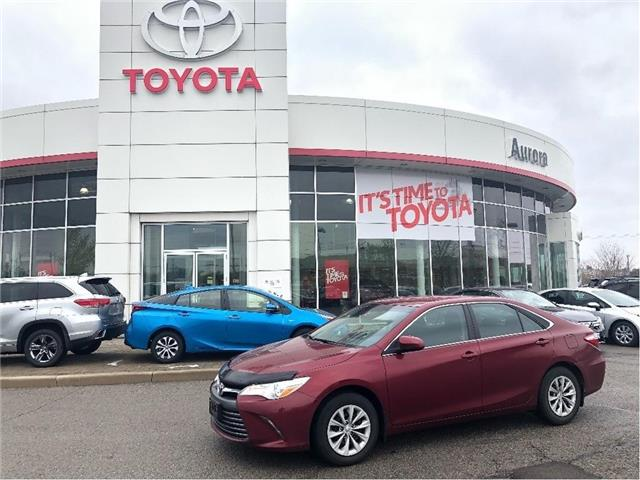 2016 Toyota Camry LE (Stk: 315101) in Aurora - Image 1 of 16