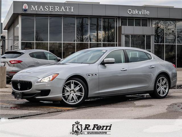 2015 Maserati Quattroporte S Q4 (Stk: U468) in Oakville - Image 1 of 28