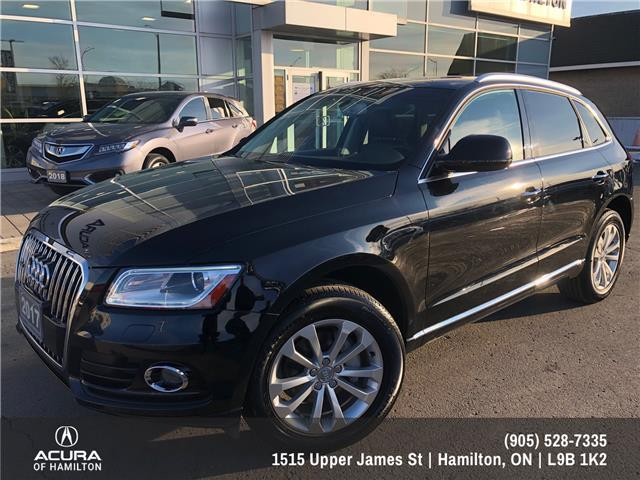 2017 Audi Q5 2.0T Progressiv (Stk: 1701551) in Hamilton - Image 1 of 27