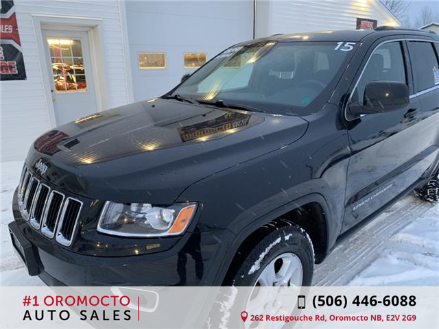 2015 Jeep Grand Cherokee Laredo (Stk: 019) in Oromocto - Image 2 of 19