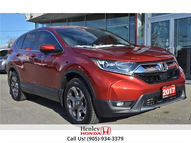 2017 Honda CR-V LEATHER | HEATED SEATS | BLUETOOTH | BACK UP (Stk: R9648) in St. Catharines - Image 1 of 28