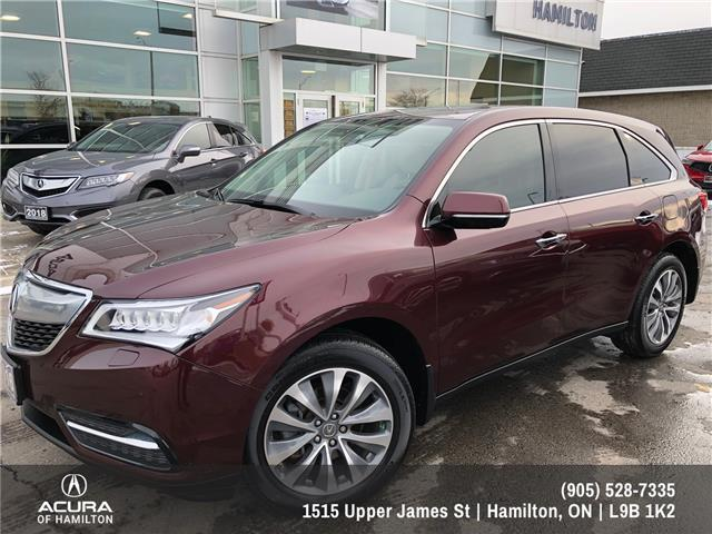 2016 Acura MDX Navigation Package (Stk: 1602291) in Hamilton - Image 2 of 32