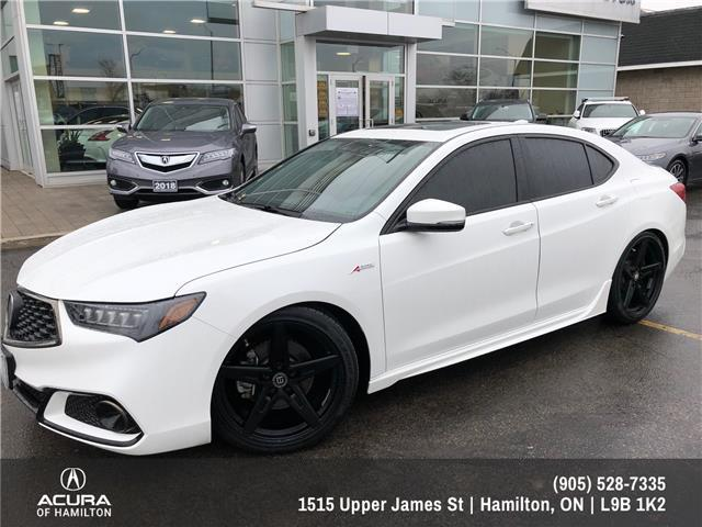 2018 Acura TLX Tech A-Spec (Stk: 1818340) in Hamilton - Image 1 of 32