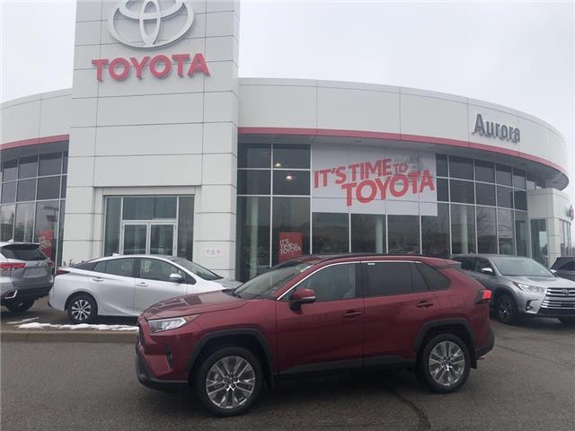 2020 Toyota RAV4 XLE (Stk: 31507) in Aurora - Image 1 of 15