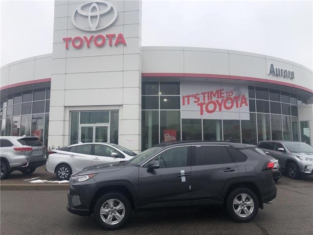2020 Toyota RAV4 XLE (Stk: 31538) in Aurora - Image 1 of 15