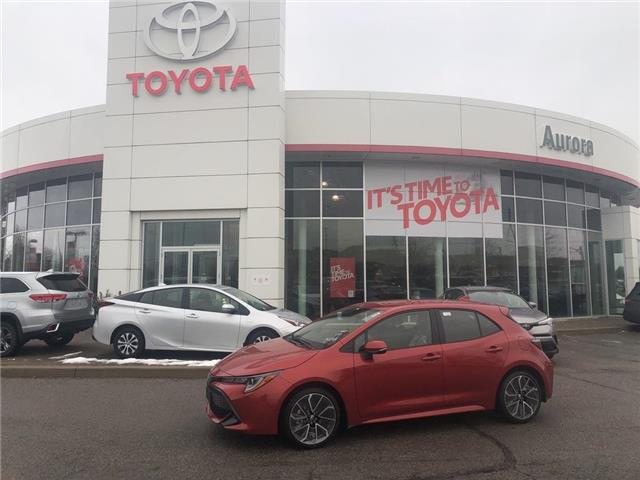 2020 Toyota Corolla Hatchback  (Stk: 31550) in Aurora - Image 1 of 15