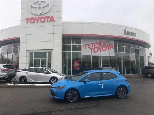 2020 Toyota Corolla Hatchback  (Stk: 31556) in Aurora - Image 1 of 15