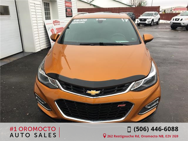 2017 Chevrolet Cruze Hatch LT Auto (Stk: 453) in Oromocto - Image 2 of 22