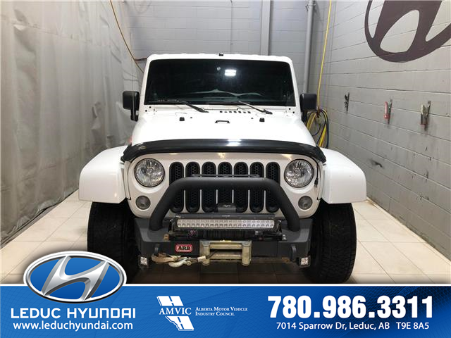 2014 Jeep Wrangler Unlimited Sahara (Stk: L0182A) in Leduc - Image 1 of 8