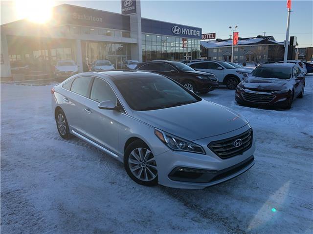 2015 Hyundai Sonata Sport Tech (Stk: 40137B) in Saskatoon - Image 1 of 27