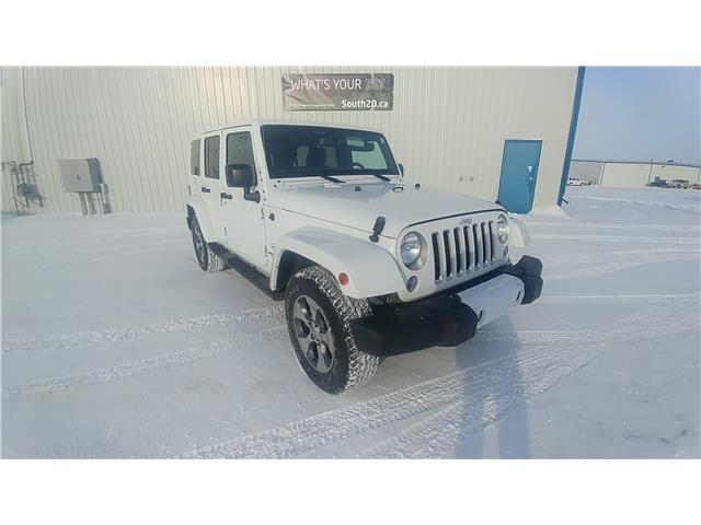 2016 Jeep Wrangler Unlimited Sahara (Stk: 40017A) in Humboldt - Image 1 of 9