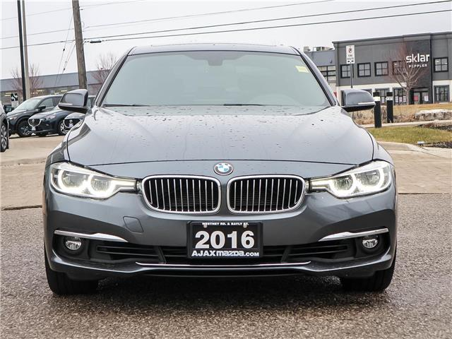 2016 BMW 328i xDrive (Stk: 20-0095A) in Ajax - Image 2 of 23