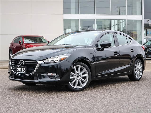 2018 Mazda Mazda3 GT (Stk: T194) in Ajax - Image 1 of 23