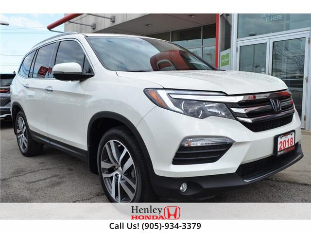2018 Honda Pilot NAV | LEATHER | HEATED SEATS | BACK UP (Stk: H18774A) in St. Catharines - Image 1 of 34