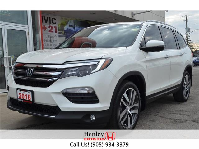 2018 Honda Pilot NAV | LEATHER | HEATED SEATS | BACK UP (Stk: H18774A) in St. Catharines - Image 2 of 34