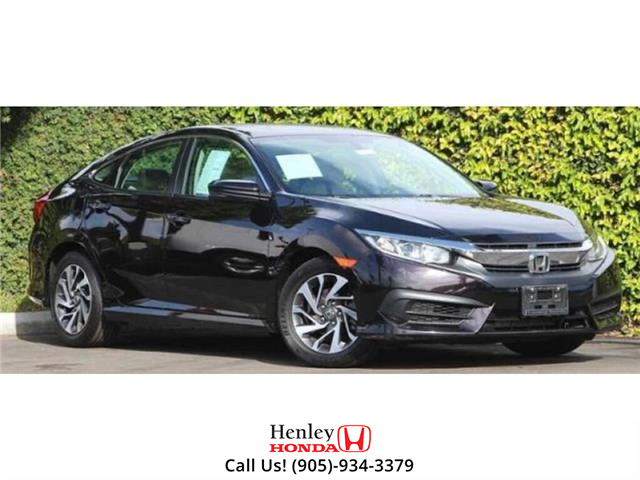 2016 Honda Civic Sedan 4dr CVT Touring (Stk: R9673) in St. Catharines - Image 1 of 1