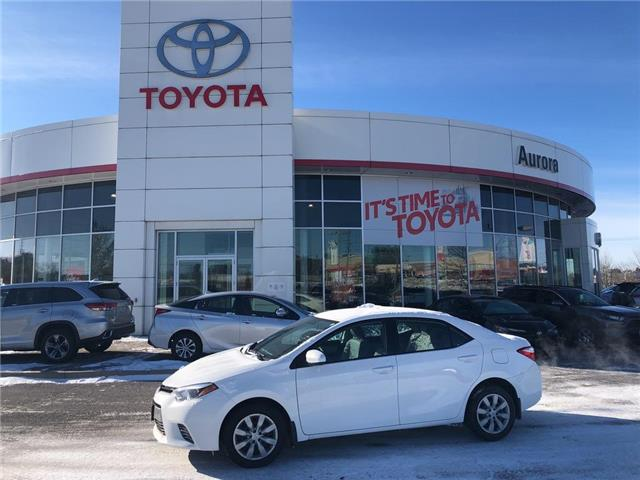 2016 Toyota Corolla LE (Stk: 309231) in Aurora - Image 1 of 16