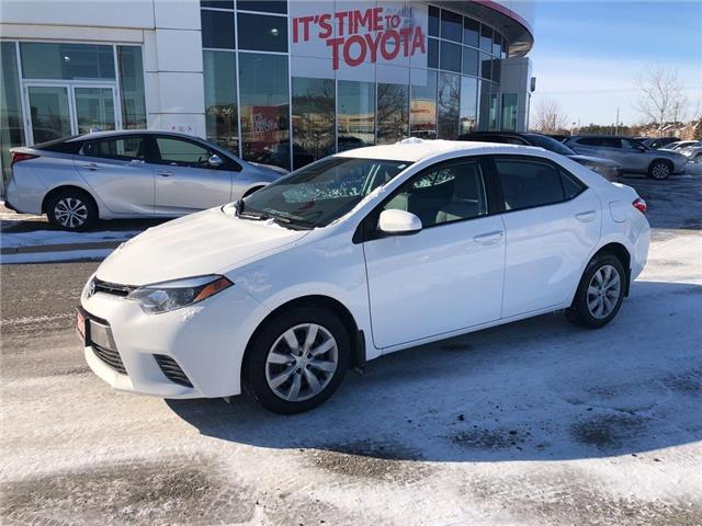 2016 Toyota Corolla LE (Stk: 309231) in Aurora - Image 2 of 16