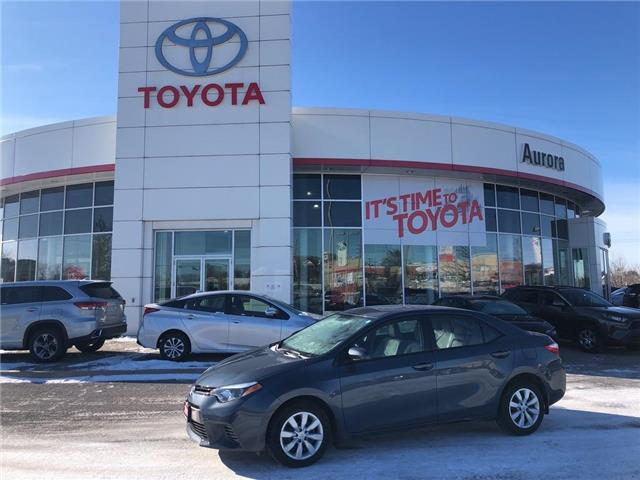 2016 Toyota Corolla LE (Stk: 310701) in Aurora - Image 1 of 20