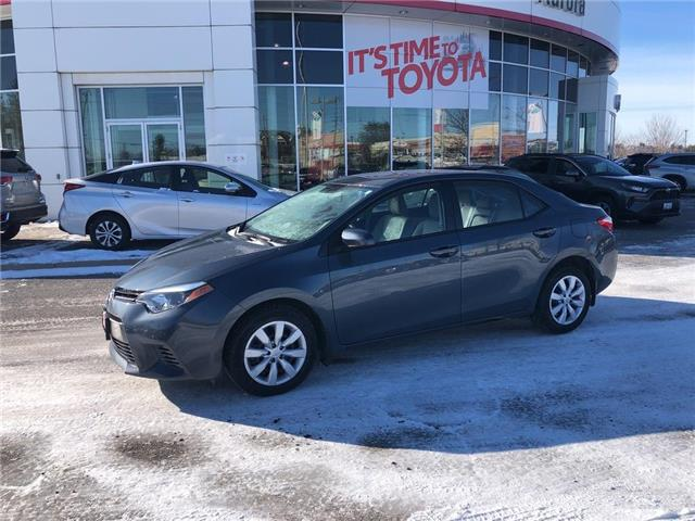 2016 Toyota Corolla LE (Stk: 310701) in Aurora - Image 1 of 22