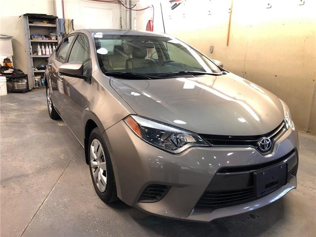 2016 Toyota Corolla LE (Stk: 1212) in Aurora - Image 1 of 17