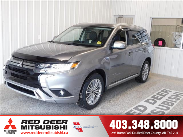 2020 Mitsubishi Outlander PHEV SE (Stk: T208557) in Red Deer County - Image 1 of 16