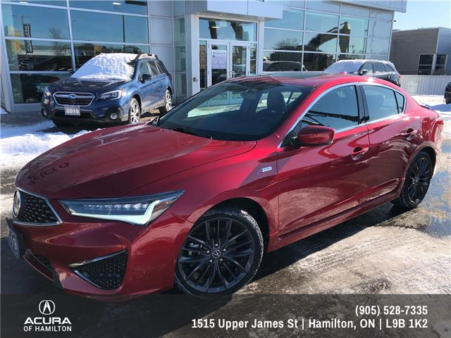 2019 Acura ILX Tech A-Spec (Stk: 1918490) in Hamilton - Image 1 of 32