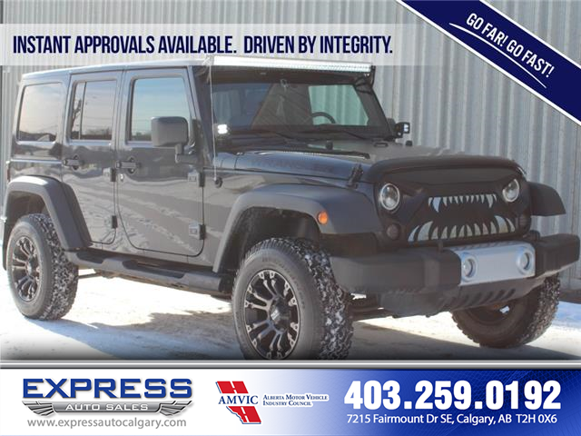 2010 Jeep Wrangler Unlimited Sport (Stk: P15-1216AA) in Calgary - Image 1 of 17
