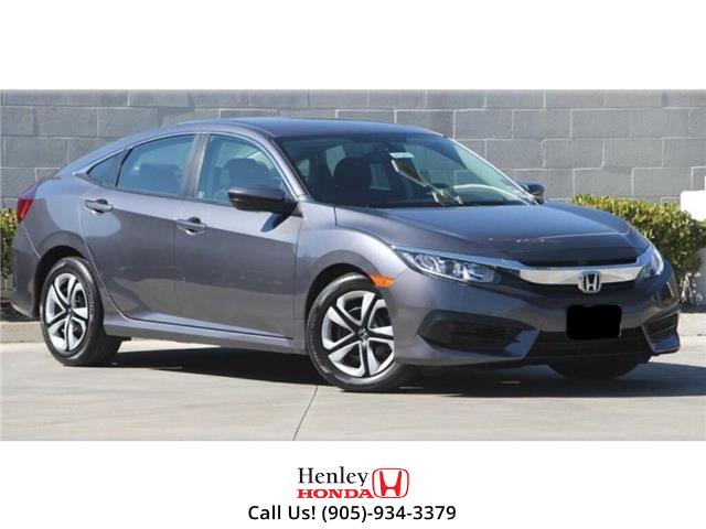 2017 Honda Civic Sedan BLUETOOTH | HEATED SEATS | BACK UP CAMERA (Stk: R9674) in St. Catharines - Image 1 of 1