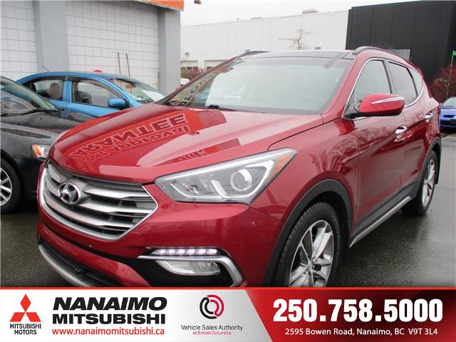 2017 Hyundai Santa Fe Sport 2.0T Limited (Stk: 9E0340A) in Nanaimo - Image 1 of 9