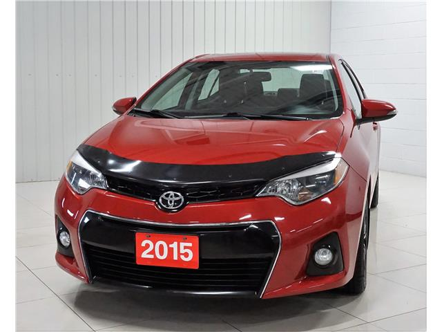 2015 Toyota Corolla S (Stk: V20015A) in Sault Ste. Marie - Image 1 of 22
