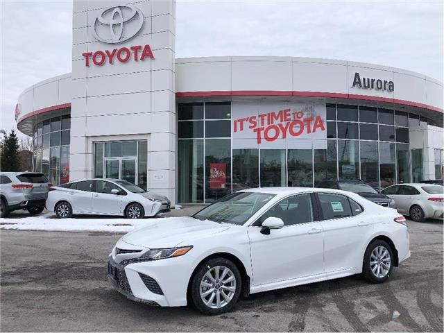 2020 Toyota Camry SE (Stk: 31489) in Aurora - Image 1 of 16