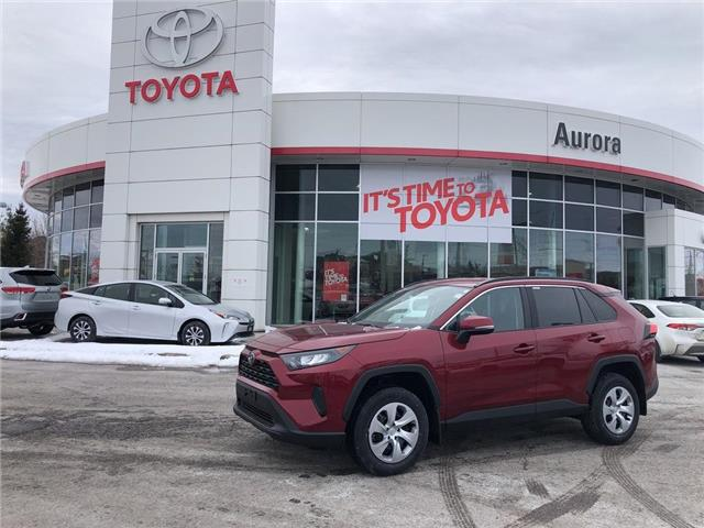 2020 Toyota RAV4 LE (Stk: 31561) in Aurora - Image 1 of 15