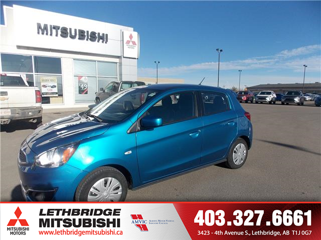 2019 Mitsubishi Mirage ES (Stk: 8T600448B) in Lethbridge - Image 1 of 16