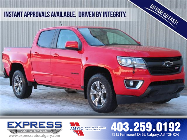 2016 Chevrolet Colorado Z71 (Stk: P15-1202AAA) in Calgary - Image 1 of 19