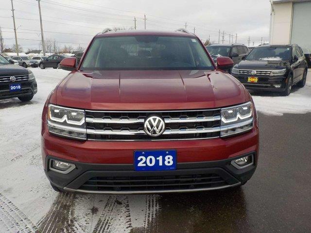 2018 Volkswagen Atlas 3.6 FSI Highline (Stk: A19068A) in Sault Ste. Marie - Image 2 of 21