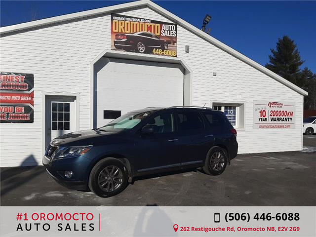 2016 Nissan Pathfinder SL (Stk: 559) in Oromocto - Image 1 of 16