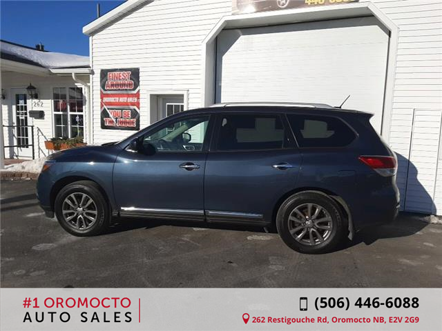 2016 Nissan Pathfinder SL (Stk: 559) in Oromocto - Image 2 of 16