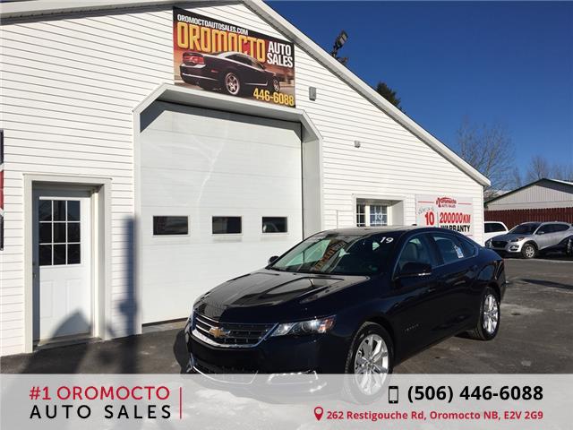 2019 Chevrolet Impala 1LT (Stk: 439) in Oromocto - Image 1 of 18
