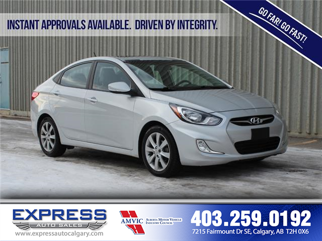 2014 Hyundai Accent GLS (Stk: P15-1149AA) in Calgary - Image 1 of 19