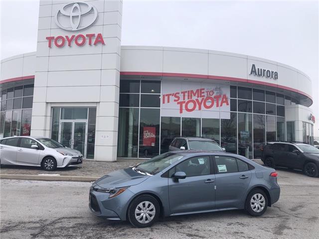 2020 Toyota Corolla L (Stk: 31184) in Aurora - Image 1 of 15