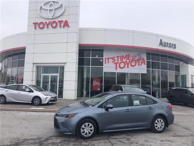 2020 Toyota Corolla L (Stk: 31182) in Aurora - Image 1 of 15