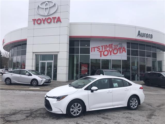 2020 Toyota Corolla LE (Stk: 31406) in Aurora - Image 1 of 15