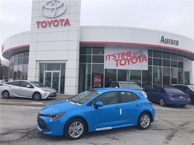 2020 Toyota Corolla Hatchback  (Stk: 31557) in Aurora - Image 1 of 15