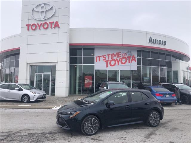2020 Toyota Corolla Hatchback  (Stk: 31602) in Aurora - Image 1 of 16