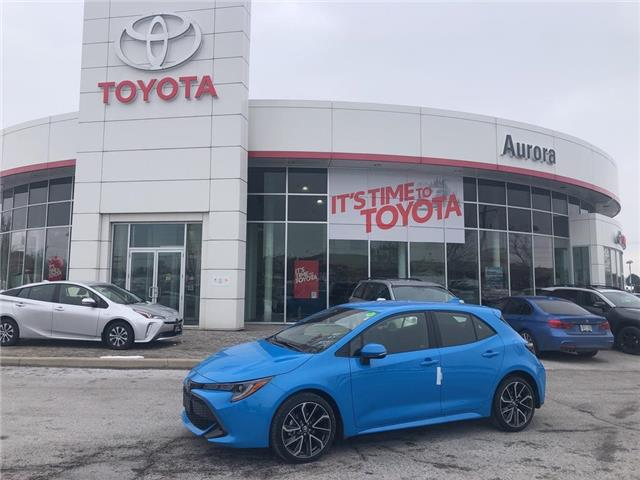 2020 Toyota Corolla Hatchback  (Stk: 31604) in Aurora - Image 1 of 15