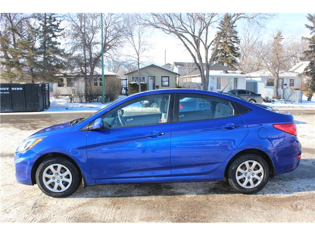 2014 Hyundai Accent GLS (Stk: CBK2871) in Regina - Image 2 of 18