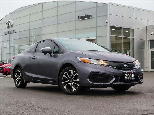 2015 Honda Civic EX (Stk: K19126-1) in London - Image 1 of 22